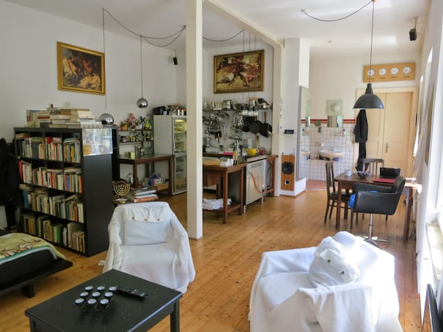 An Oasis in the Nightlife District! - Dresden - Loft