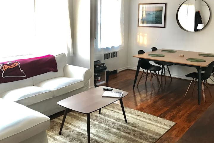 Spacious VT Downtown Studio Apt. Steps from Campus