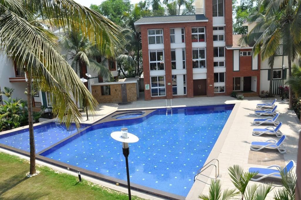 Ideally situated  in quiet & serene location in beautiful  Arpora area, North Goa