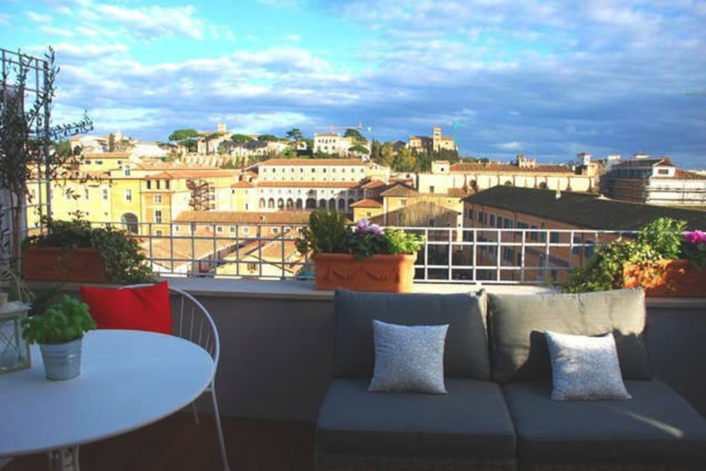 Anicia terrace trastevere fantastic rome view for The terrace top date