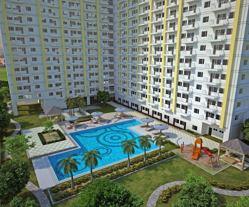 Sun Residences At Welcome Rotonda Apartments For Rent In Quezon City Manila Philippines