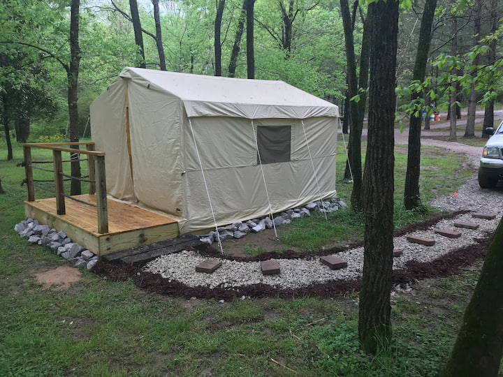 Tent Cabin at Smooth Rapids