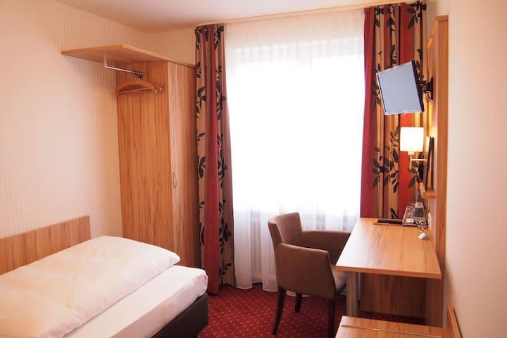 Hotel am Bad, (Tübingen), Economy Einzelzimmer mit Dusche und WC