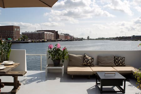 Luxury 200m2 Private HV Houseboat - Amsterdam