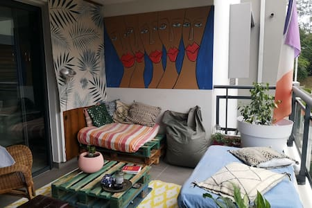 Charming, cosy appartement front sea St Paul