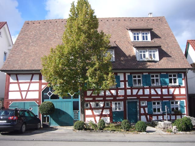 Charming appartment in a historical - Albstadt - Leilighet
