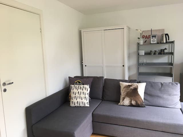 Stylish studio in brand new house by Holmenkollen