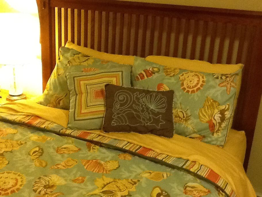 South Room bedding