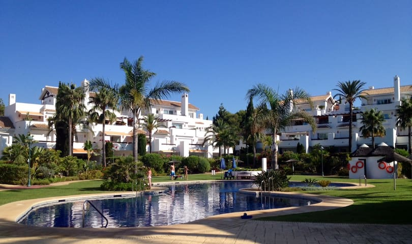 Marbella luxury beach apartment Los Monteros