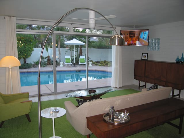 Mid Century Architectural Gem with Pool & Spa