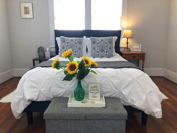 Spacious/Cozy Downtown Home; 5 Minutes to Duke