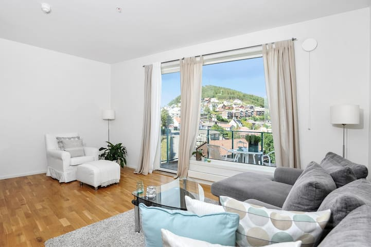 Welcome! Central 2 bedrm. apartment - Gjesdal - Daire