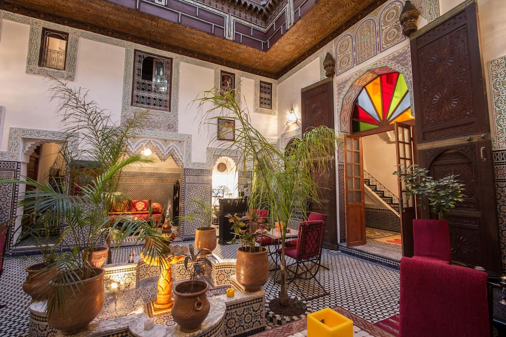 Riad naila bed and breakfasts en alquiler en fez fez for Airbnb fez