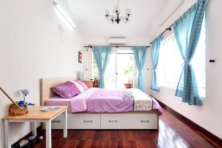 Private room with garden in Central Saigon!