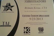 I'm a Certified KC Tourism Ambassador.  <3 my city!