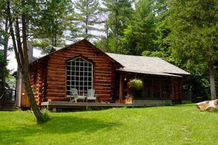 Lake Muskoka Log Cabin - Bracebridge - Ev