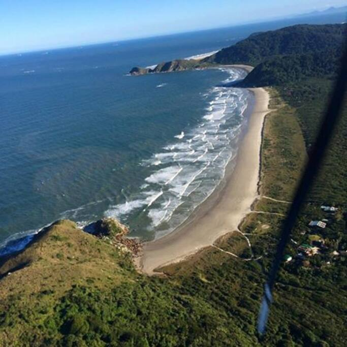Praia Grande - Vista  aerea