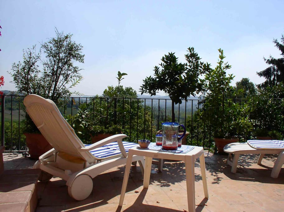 Relax in terrazza - Relaxing on the terrace
