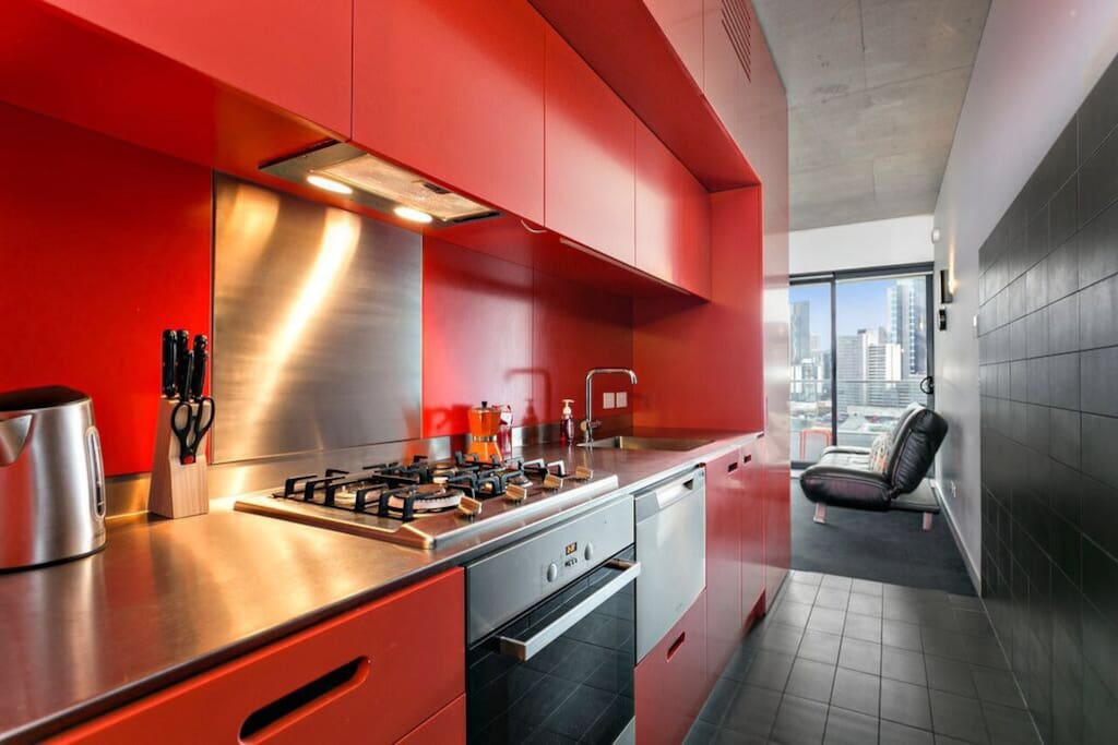 Fully equipped kitchen all you need