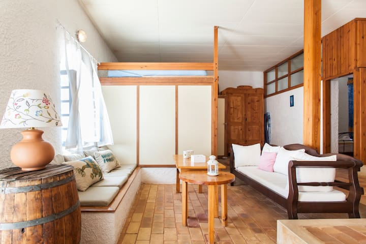 Amazing Traditional Home on Beach - Stalida - Maison