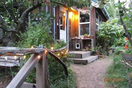 Secluded Eco-Cottage - Arcata - Kulübe