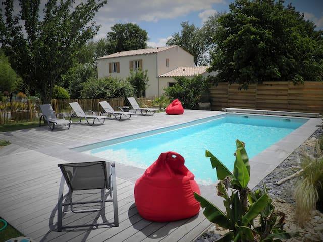 Gîte douillet près de La Rochelle - La Jarrie - Overig