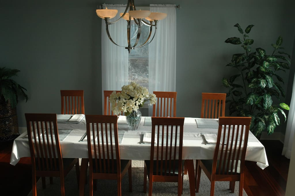 Formal dining room off the kitchen and great room.