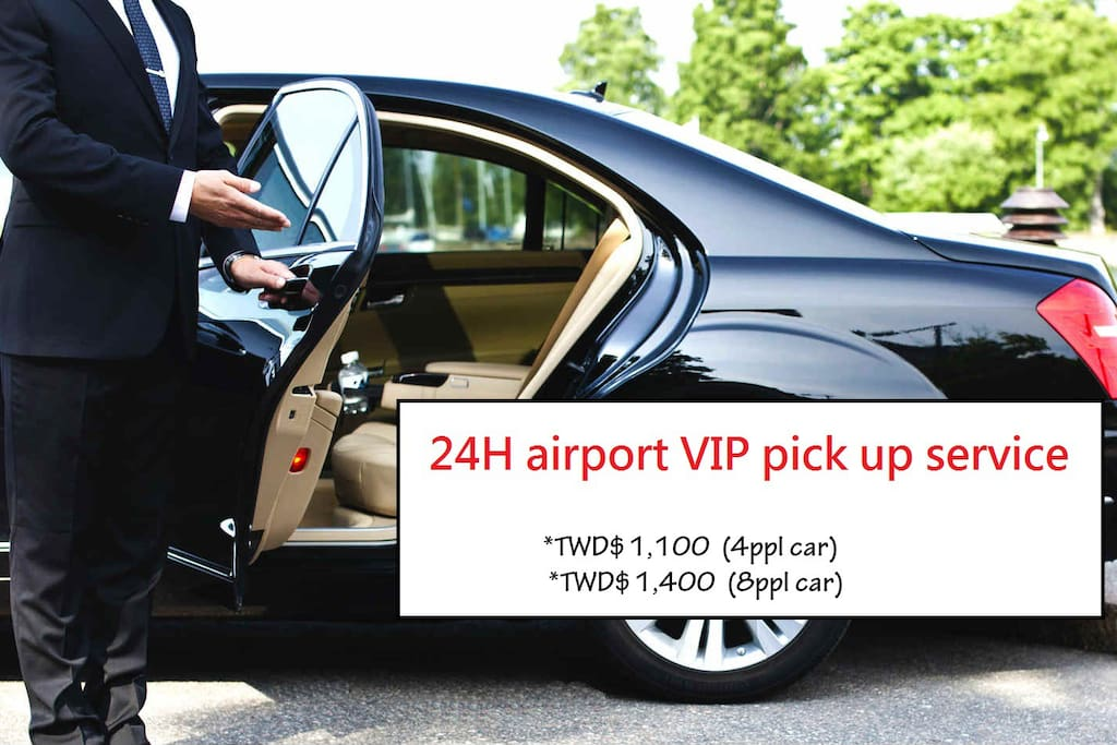 24H airport VIP pick up service :D