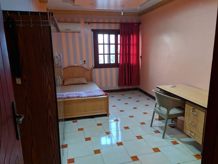 Peaceful room  in nasr city.