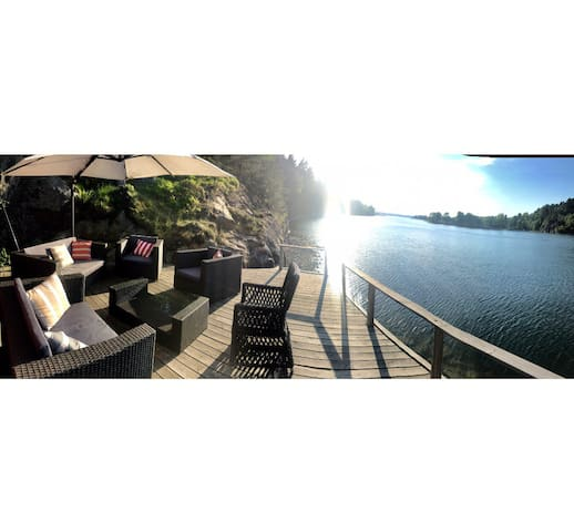 Hus vid havet Stockholms skärgård