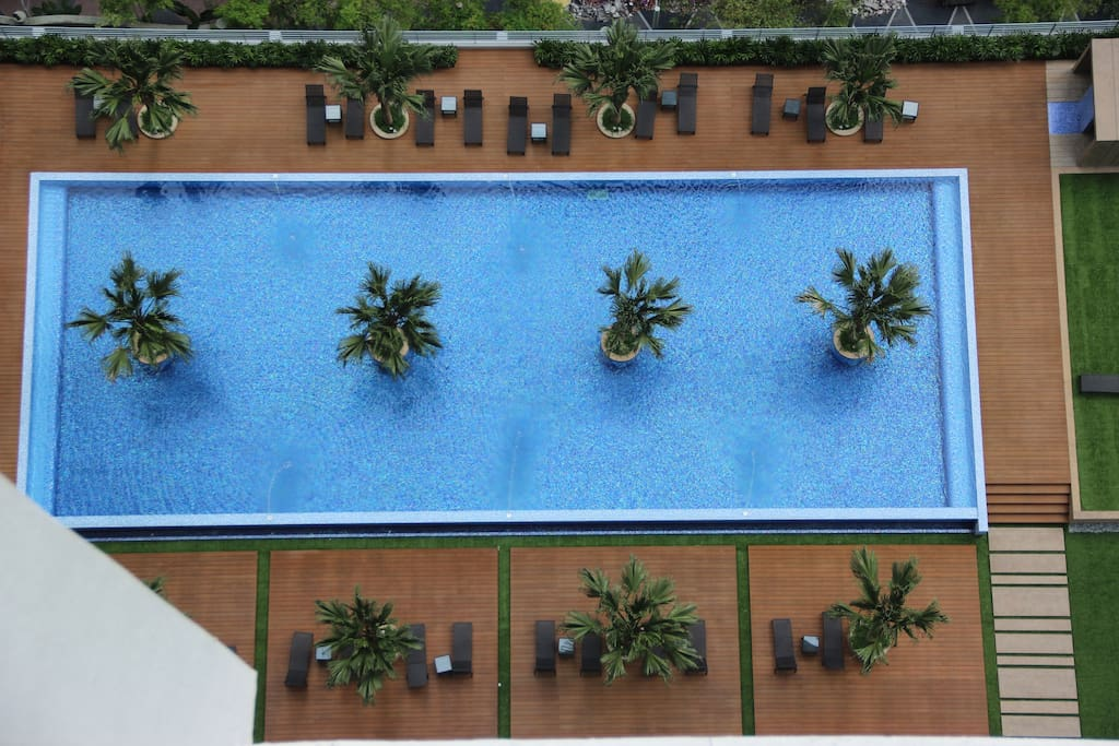 Pool and Gym : RM100 per pax / week & Kid Below 12Years are Free
