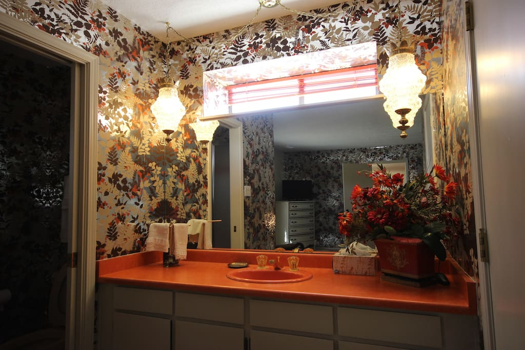 Autumn Guest Bathroom