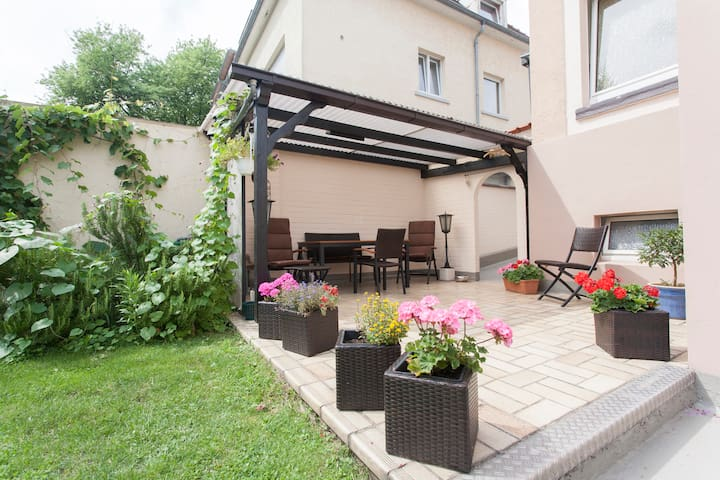 Top floor apartment with garden use - Mannheim - Apartamento