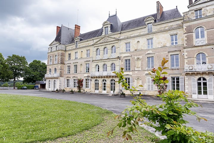 Chambre d'hôte au Château  - Bauné - Inap sarapan