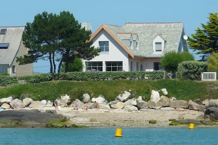 Normandy, large house by the sea - Réville - Hus