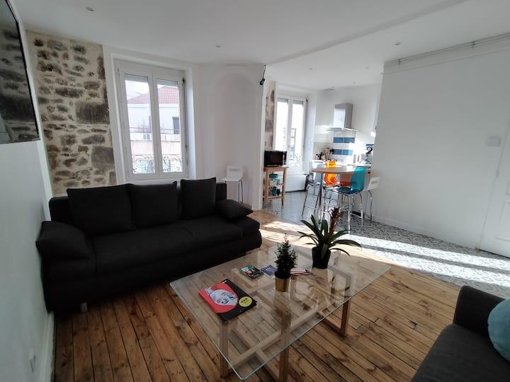 Appartement spacieux et lumineux - Parvis Gare
