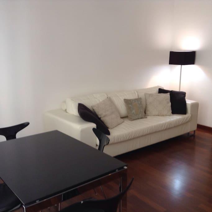 Area living - focus sofà bed