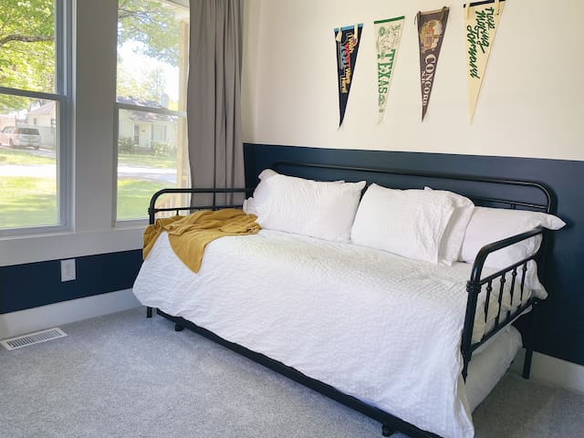 Bedroom #2 with trundle bed