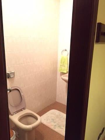 Banheiro suite externa