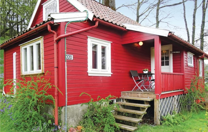 Amazing home in Brusand with Sauna, WiFi and 2 Bedrooms