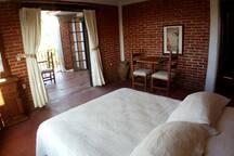 Suite y terraza