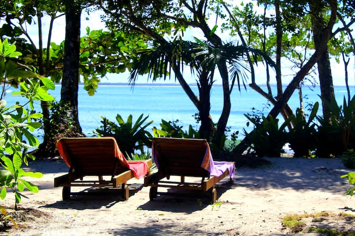 Cozy pousada in front of the beach /Villa da Barca - Velha Boipeba - Bed & Breakfast