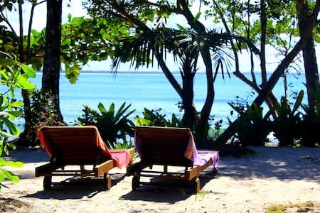 Hermosa Posada con jardín privado frente al mar - Velha Boipeba