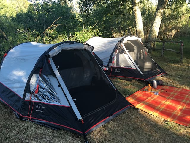 2-person Set of Camping Gear (Budget) - Overijssel
