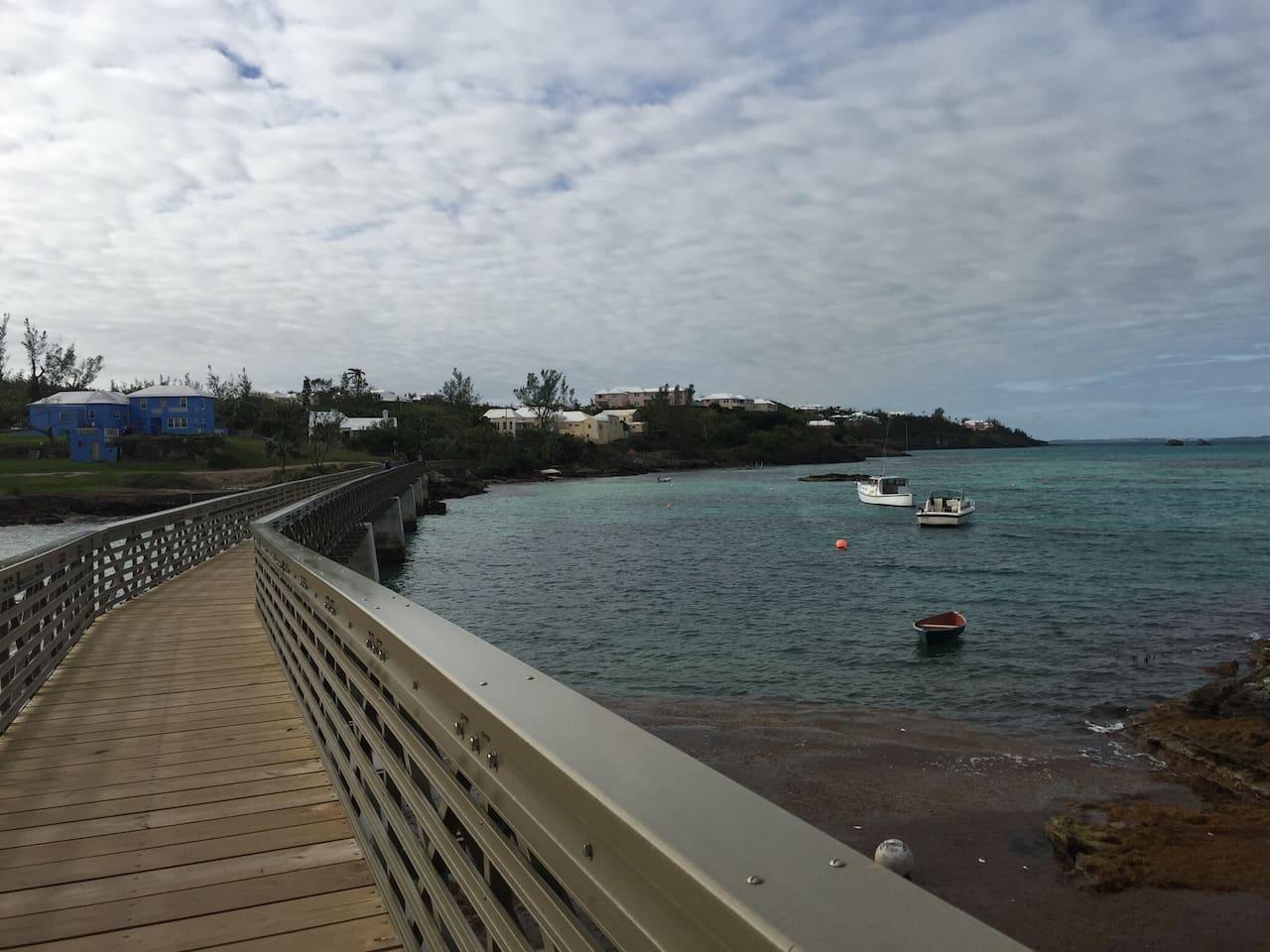 Bermuda Rail Way Trail in Bailey's Bay
