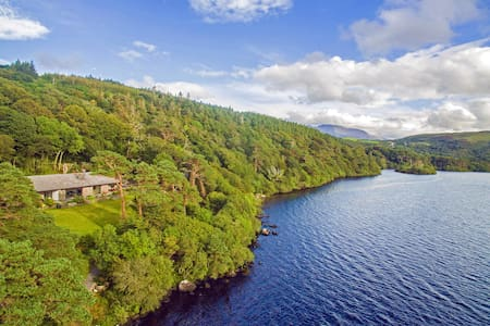 Large Lakefront House - Stunning Views! - Caragh Lake - House