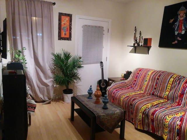 belle appartement chalereux pour  voyageur - Sherbrooke - Huoneisto