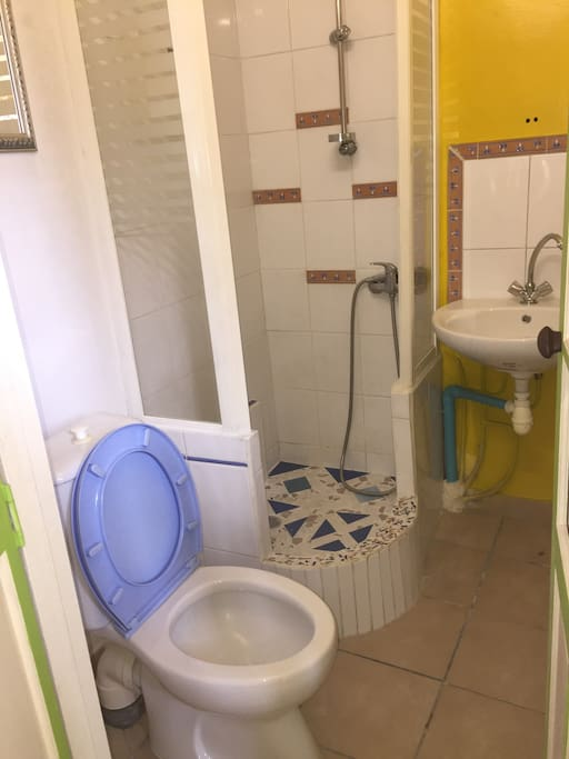 Salle d'eau privé