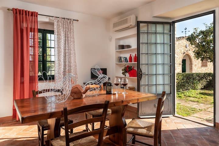 Appartamento trilocale in Fattoria Montecchio