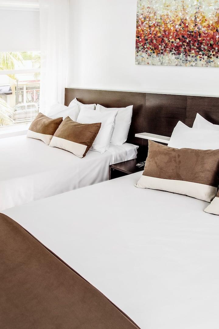 Casa Boutique Hotel, Superior Double 2 Queen Beds